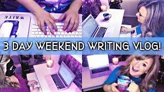 Memorial Day Weekend Writing Vlog