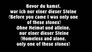 Sido Feat. Mark Forster   Einer Dieser Steine Englische übersetzung! [LYRICSENGLISH]