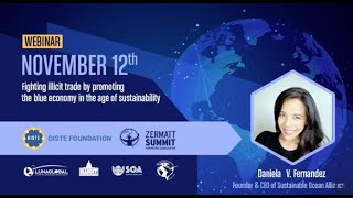 Daniela V. Fernandez : Founder and CEO of the Sustainable Ocean Alliance
