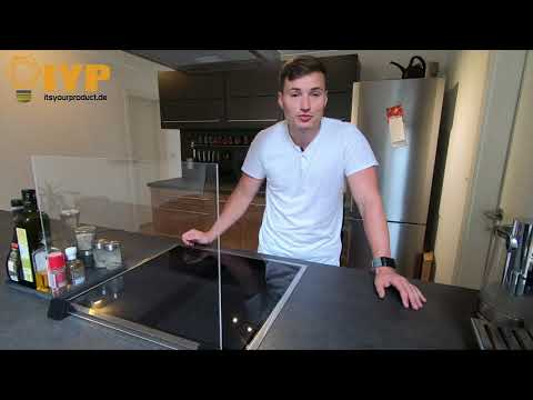 #1 Probleme mit Fettspritzern beim Kochen? Variabler Spritzschutz für jedes Kochfeld!