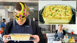 Recreating Bobby Flay's Macaroni & Cheese Carbonara From Taste | Bon Appétit
