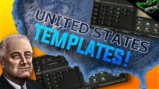 HOI4 USA Template Guide (Hearts Of Iron 4 American Templates Tutorial)