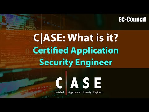 What is Certified Application Security Engineer (CASE) - YouTube