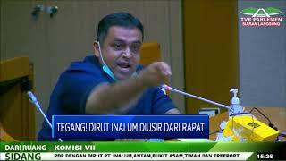 Tegang! Detik-Detik Dirut Inalum Diusir Anggota Komisi VII