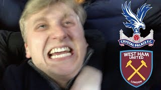MATCHDAY VLOG #38: Crystal Palace vs West Ham   WHAT A SECOND HALF!