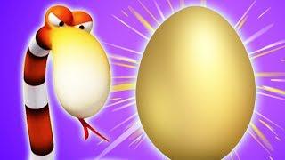 Мультфильм Газун - Погоня за Яйцом - газун звериные приключения мультики для малышей