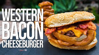 The Best Western Bacon Cheeseburger Ever   SAM THE COOKING GUY 4K