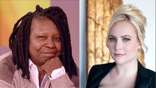 Whoopi Goldberg Breaks Down As Meghan McCain Left The Show 'The View' For This Sad Reason