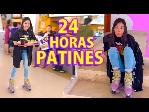 24 HORAS EN PATINES | TV Ana Emilia