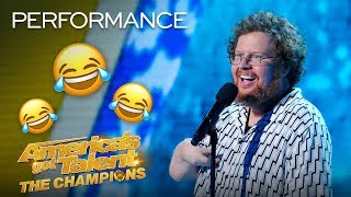 Comedian Ryan Niemiller Delivers His FUNNIEST Stand-Up YET! - America's Got Talent: The Champions thumbnail