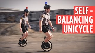Video for Self-Balancing Unicycle