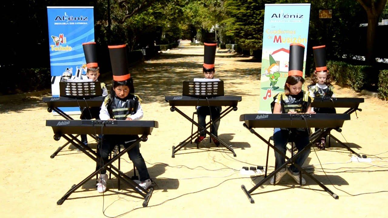 Pasa el batallón - Grupo de alumnos de Mi Teclado 1 - Escuela de Música Albéniz