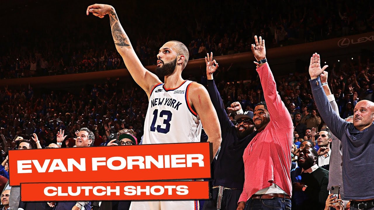 Evan Fournier HUGE SHOTS Down the Stretch in KNICKS Debut! 😤