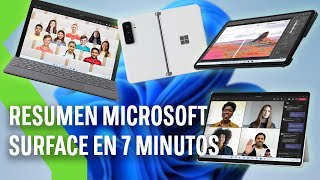 RESUMEN EVENTO MICROSOFT | Surface Pro 8, Surface Go 3, Surface Duo 2 y Surface Laptop Studio