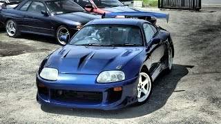 Toyota Supra for sale at JDM EXPO Japan