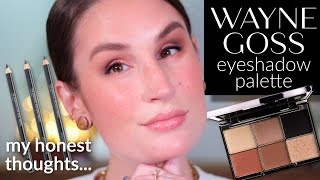 MY THOUGHTS ON THE NEW WAYNE GOSS EYESHADOW PALETTE | Beautiful, BUT...