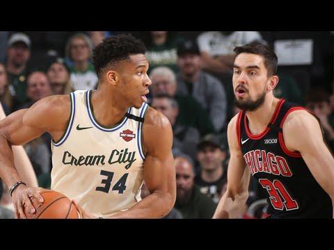 Milwaukee Bucks vs Chicago Bulls Full Game Highlights | January 20, 2019-20 NBA Season