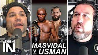 Jorge Masvidal vs Kamaru Usman Confirmed | WEIGHING IN