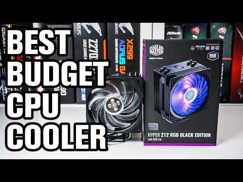 Cooler Master Hyper 212 RGB Black Edition CPU Cooler Review