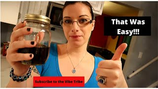 How to make Tincture...Warm method…Cannabis infused Alcohol