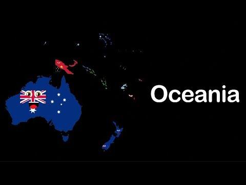 Oceania/Oceania Continent/Oceania Geography