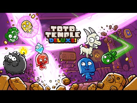 Toto Temple Deluxe - Launch Trailer (PS4, Xbox One, WiiU, Steam) thumbnail