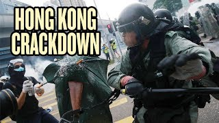 China Calls for Crackdown on Hong Kong Protesters thumbnail