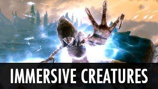 Skyrim Mod: Immersive Creatures