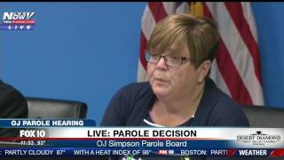 FULL: Parole Board Speaks After Deliberation On O.J. Simpson Hearing (FNN)