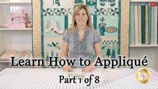 Learn How To Appliqué With Shabby Fabrics - Part 1: Defining Appliqué