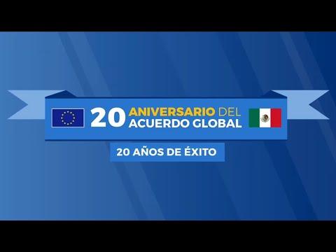 Líderes empresariales se unen a la celebración del 20 aniversario del Acuerdo Global UE-México