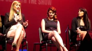 Sandra Oh, Jessica Capshaw, and Sara Ramirez Q&A at the Grey's Concert benefiting the Actors Fund