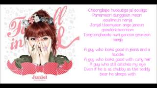 [ROM + ENG] Juniel - Pretty Boy Lyrics