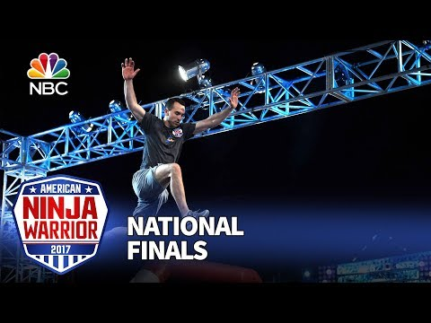 Joe Moravsky at the Las Vegas National Finals: Stage 1 - American Ninja Warrior 2017