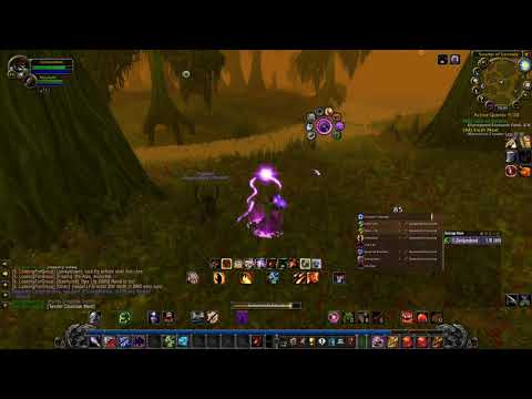 Return to WoW classic, doing quests in Swamp of Sorrows.