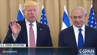 """""""I NEVER MENTIONED THE WORD ISRAEL!"""" President Trump On Meeting With Russians"""
