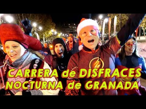 Carrera de Disfraces Granada Nocturna 2017