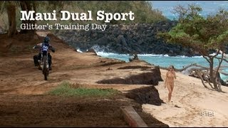 preview picture of video 'Maui Dual Sport - Glitter's Training Day S1E4'