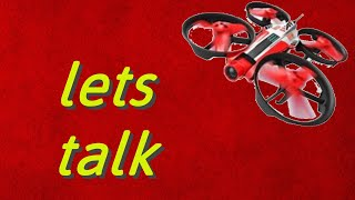 Talking about channel while flying dr1 race drone from airhogs