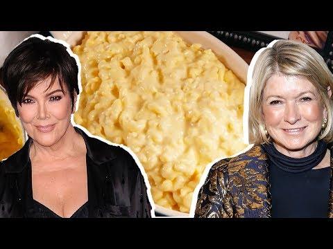 Kris Jenner Vs. Martha Stewart: Whose Mac N Cheese Is Better? | Celebrity Snackdown | Delish