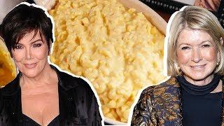 Kris Jenner Vs. Martha Stewart: Whose Mac N Cheese Is Better?