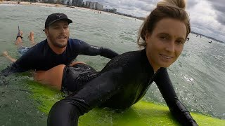 Tandem Surfing In Australia  | LIFE IS NOT ALWAYS PERFECT|