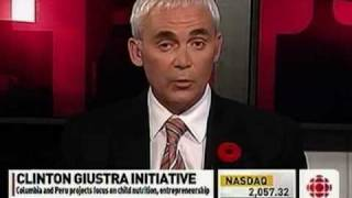 Frank Giustra Discusses the Motivation Behind the Clinton Giustra Sustainable Growth Initiative