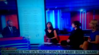 Muhammad is the UK's most popular baby boy's name