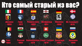 17 of the oldest football clubs in the world. Among them are not only English teams.
