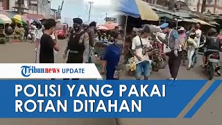 Sebanyak 8 Oknum Polisi yang Tertibkan Warga dengan Rotan di Pasar Mardika Ambon Ditahan