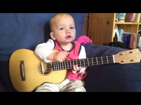 This Toddler is a True Music Lover!