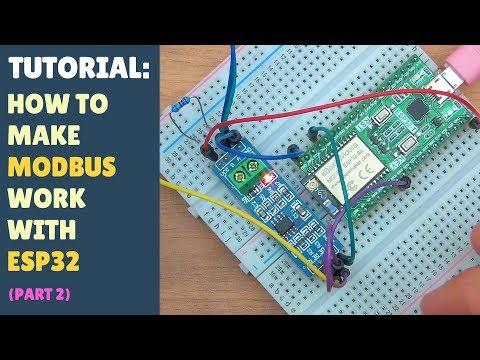 Arduino(ESP8266) RS485 Modbus RTU Meter SDM-120 - смотреть онлайн на