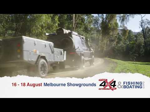 National 4x4 Outdoors Show, Fishing & Boating Expo, Melbourne