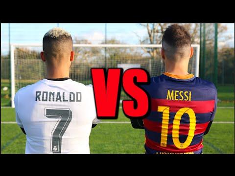 Messi VS Ronaldo (видео)